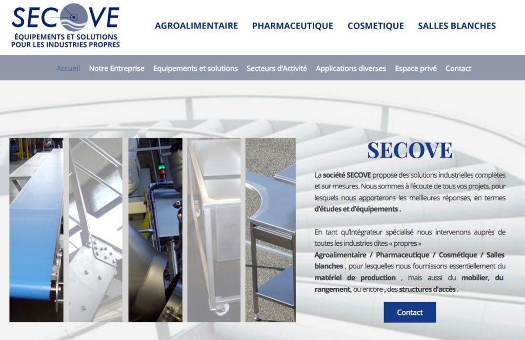 SECOVE : Solutions industrielles complètes et sur mesures.